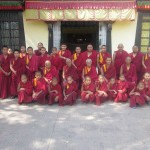 Monks of Phelgye Ling Monastery