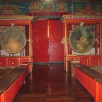 Inside the prayer hall